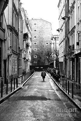 Photograph - Alone In Paris by John Rizzuto