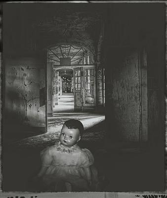 Alone In The Dark Art Print by Cindy Nunn