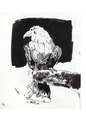 Alone In The Dark Art Print by Gabriel Mendez