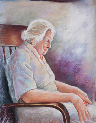 Painting - Alone In Thoughts by Patricia Baehr-Ross