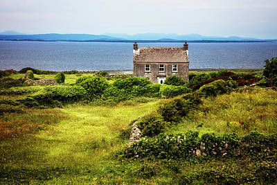 Photograph - Alone On The Aran Islands by Debra and Dave Vanderlaan