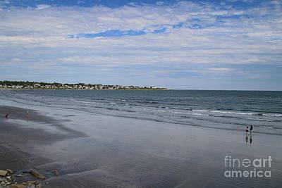 Photograph - Alone On The Beach by Lennie Malvone