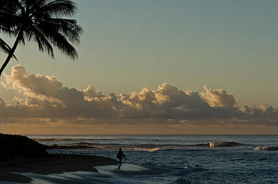 Photograph - Alone On The Beach by Roger Mullenhour