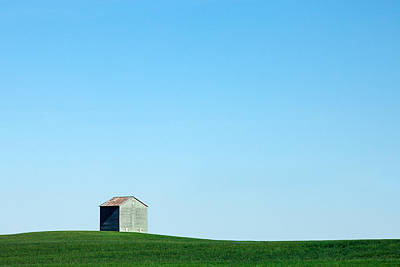 Alone On The Plains Art Print by Todd Klassy