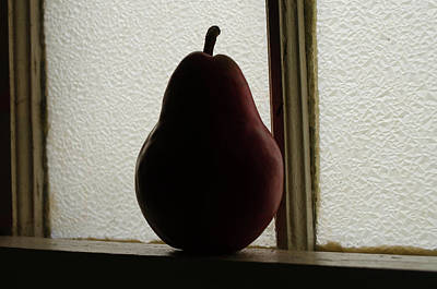 Photograph - Alone  - The Pear Saga by Rae Ann  M Garrett