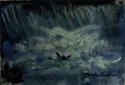 Painting - Alone by Wanvisa Klawklean