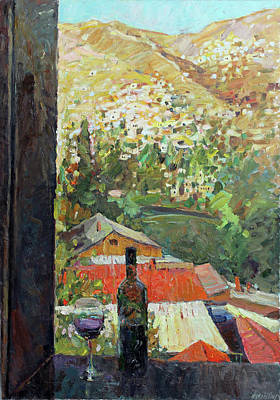 Painting - Alone With Myself by Juliya Zhukova