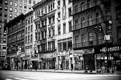 Photograph - Along 6th Avenue by John Rizzuto