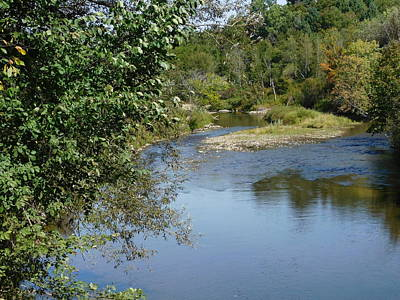 Photograph - Along Black River In Coventry Vermont by Catherine Gagne