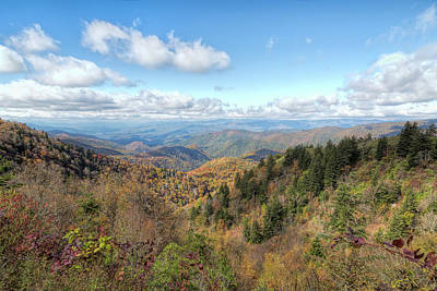 Photograph - Along Blue Ridge by John M Bailey