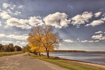 Photograph - Along Cass Lake by John M Bailey