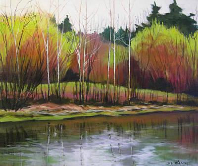 Along Fanno Creek Art Print