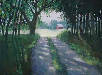 Along Kelderhouse Road Art Print by Linda Preece