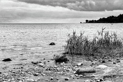 Photograph - Along Lake Huron Cloudy Day by Mary Bedy