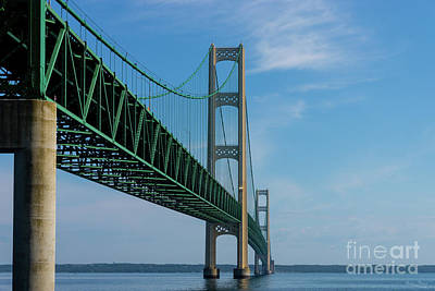 Photograph - Along Mackinac Bridge by Jennifer White