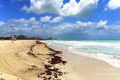 Photograph - Along South Beach by John Rizzuto