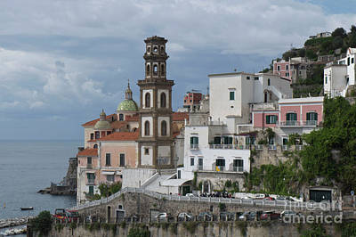 Photograph - Along The Amalfi Coast by Loriannah Hespe