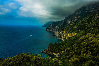 Photograph - Along The Amalfi Coast by Marilyn Burton