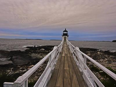 Photograph - Along The Boardwalk by Teri Ridlon