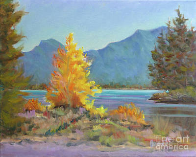 Along The Bow River, Canmore Original
