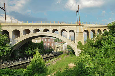 Photograph - Along The Canal -manayunk Philadelphia Pa by Bill Cannon