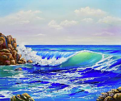 Painting - Along The Coast by Mary Scott