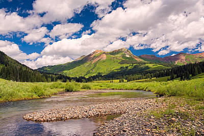 Photograph - Along The Gothic River by Michael Blanchette