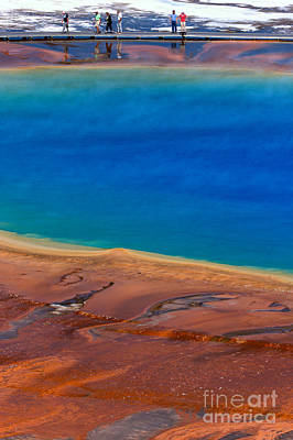Photograph - Along The Grand Prismatic Rainbow by Adam Jewell