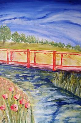Painting - Along The Greenbelt by Carol Duarte