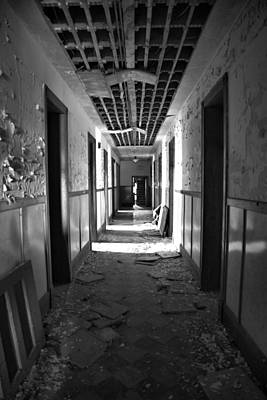 Photograph - Along The Hall by CA  Johnson