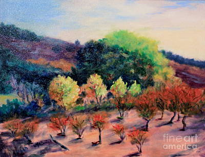 Painting - Along The Highway by Marcia Dutton