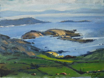 Painting - Along The Irish Coast by Len Stomski