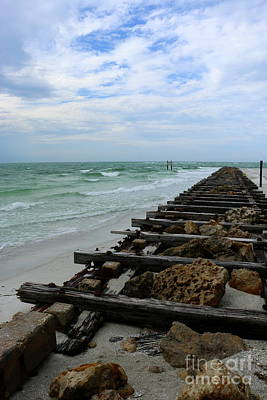 Photograph - Along The Jetty by Christiane Schulze Art And Photography