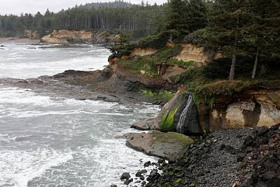Photograph - Along The Oregon Coast - 7 by Christy Pooschke