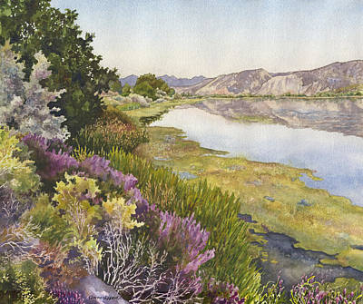 Along The Oregon Trail Art Print by Anne Gifford