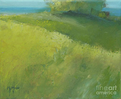 Painting - Along The Path by Mary Hubley