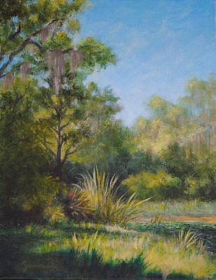 Painting - Along The Pond's Edge by Alan Zawacki