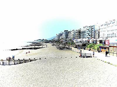 Photograph - Along The Promenade At Eastbourne Sussex by Dorothy Berry-Lound
