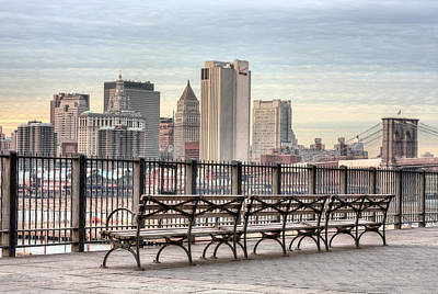 Brooklyn Height Photograph - Along The Promenade  by JC Findley