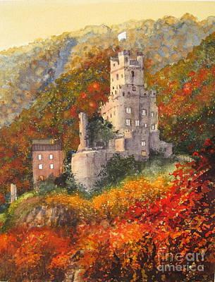 Painting - Along The Rhine I by Shirley Braithwaite Hunt