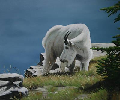 Along The Ridge Art Print by Jennifer Batey