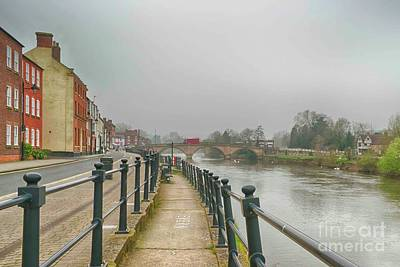 Photograph - Along The River Severn by Linsey Williams
