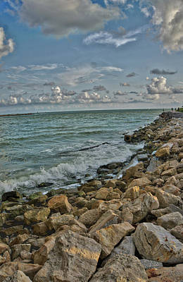 Photograph - Along The Sea Wall by Jane Luxton