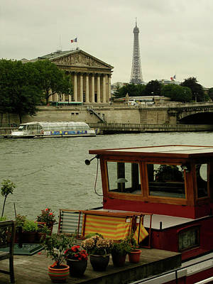 Along The Seine Art Print