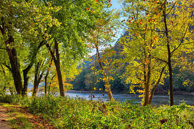 Photograph - Along The Shenandoah River by John M Bailey