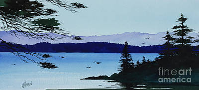 Painting - Along The Shoreline by James Williamson