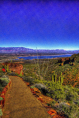 Photograph - Along The Trail To The Lower Ruins At Tonto National Monument by Roger Passman