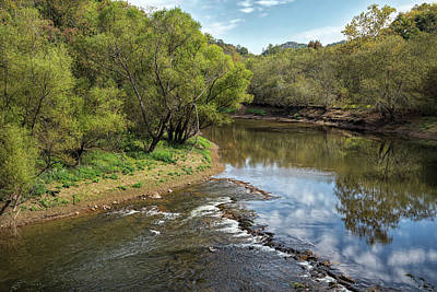 Photograph - Along The Valley River by John M Bailey