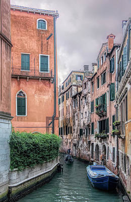 Photograph - Along The Venice Canal by Gary Slawsky