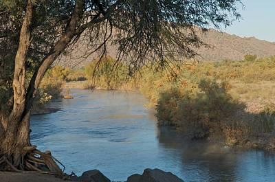 Along The Verde River 9 Art Print by Susan Heller